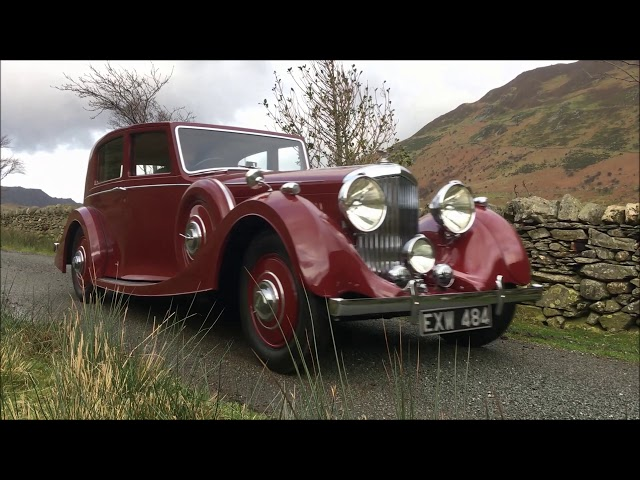 1938 Bentley 4 1/4 Litre Park Ward Pillarless Sports Saloon