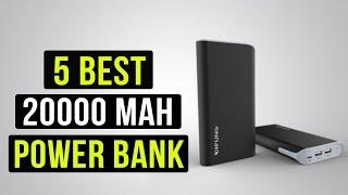 TOP 5 Ultimate Power Bank 20000 mAh Power Bank
