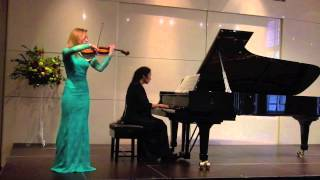 "Prokofiev: ""Grand Waltz"" from ""Cinderella"" (Dunja Lavrova, violin and Sophia Rahman, piano)"