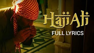 HAJI ALI LYRICS : PRASSTHANAM | Sukhwinder Singh | Musical HITS | Latest bollywood songs 2019