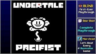 ✔️ Undertale (Full Blind Playthrough) [Pacifist]