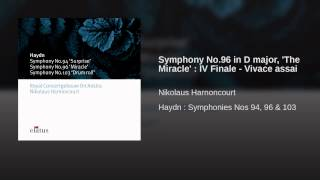Symphony No.96 in D major,