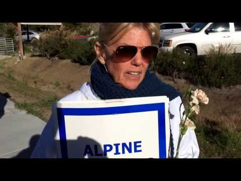 Alpine Pres.Gayle Malone shares her thoughts on the strike for respect for teachers and students