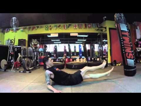 Youth Union Sports Club-Eric workout class demo