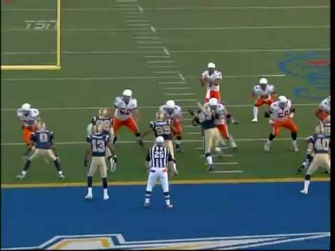 Jarious Jackson touchdown pass to Geroy Simon #2 @ Winnipeg