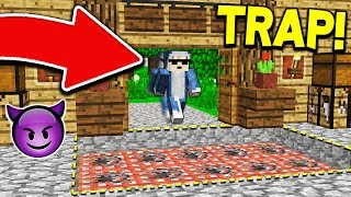 09SHARKBOY WILL QUIT MINECRAFT AFTER THIS TROLL! 😈 (TROLL WARS #8)