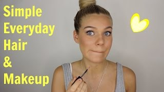 One of Chloe Szep's most viewed videos: Simple Everyday Hair & Makeup | GRWM