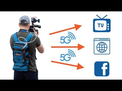LiveU presenta unidad profesional de transmisión de video en vivo con 5G integrado