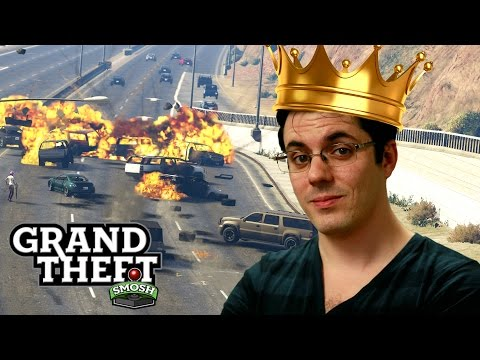 ADVERSARY MODE MADNESS! (Grand Theft Smosh)