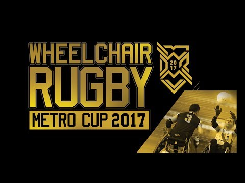 Wheelchair Rugby Metro Cup 2017 (day2)