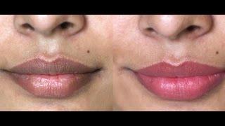 😗👍Comment eclaircir les lèvres noires en 5 minutes💖