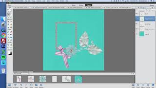 Arranging Papers and Layers in Digital Scrapbooking