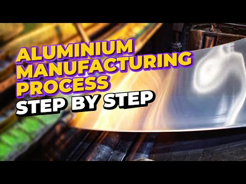 How does the ALUMINUM smelter work? - Factories