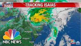 Watch Live: Track Tropical Storm Isaias As It Moves Toward The East Coast | NBC News