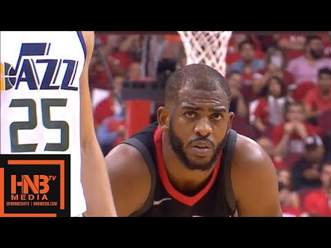 Houston Rockets vs Utah Jazz 1st Half Highlights / Game 2 / 2018 NBA Playoffs