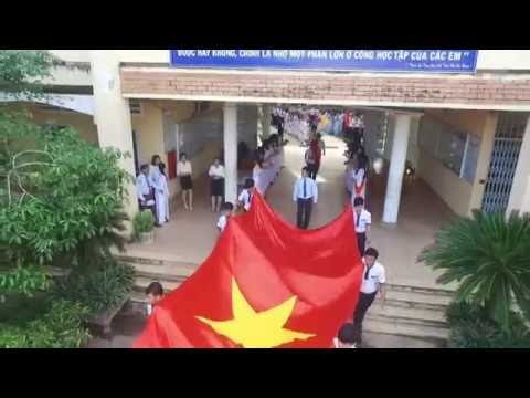 Flycam Lễ Khai Giảng trường THPT THỚI LAI (khách filmed)