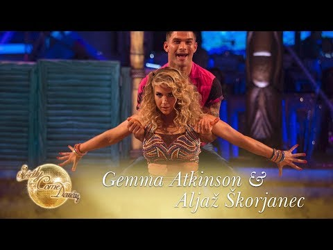 Gemma and Aljaz Salsa to 'Sun Comes Up'  Strictly Come Dancing 2017