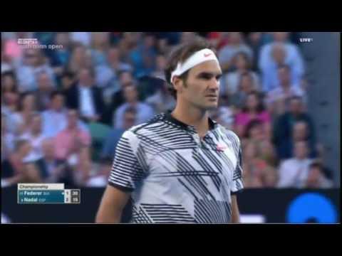 Australian Open 2017 MF-Rafael Nadal vs. Roger Federer
