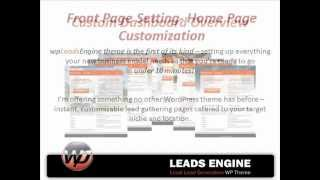 Local Lead Generation Wordpress Theme With Built-in PPC Campaign Builder!