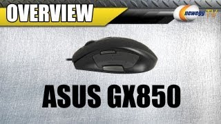 Newegg TV: ASUS GX850 USB Wired Laser Mouse Overview