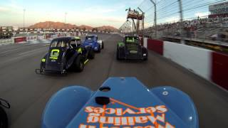Chris Trickle Legend Racing 5/11/13 Chris takes 2cd Place Car Cam