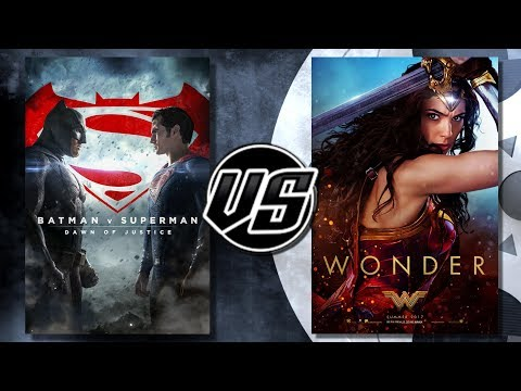 Wonder Woman VS Batman v Superman