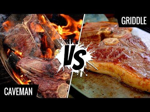 Caveman Steak vs Griddle! Who makes the best sous vide steak? - Series E7