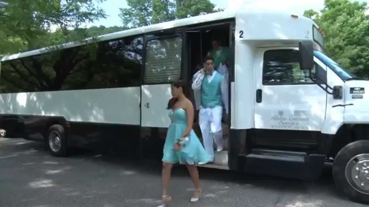 Claudia s sweet 16 party bus youtube