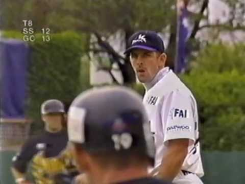 Gold Coast Cougars vs Sydney Storm - 97/98 ABL Australian Baseball League -