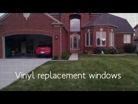 Vinyl Replacement Windows Sterling Heights, Chesterfield, Macomb Mi
