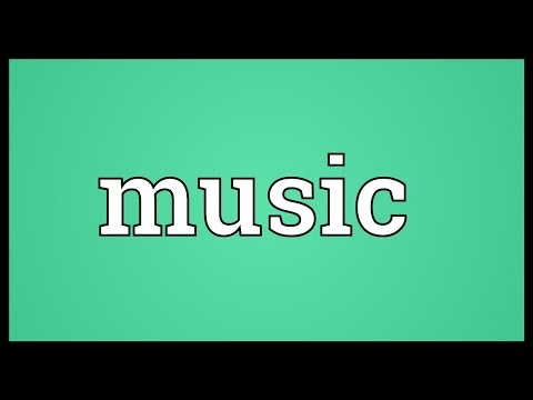 Music Meaning