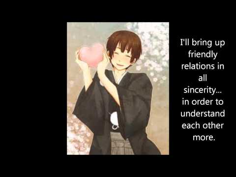 (APH) ~ Japan ~ May You Smile Today FULL English Lyrics