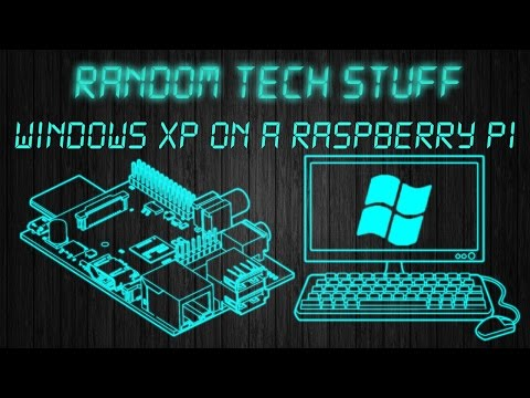 HOW TO run WINDOWS xp and older on a RASPBERRY PI - YouTube