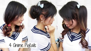 Cute Anime Pigtails