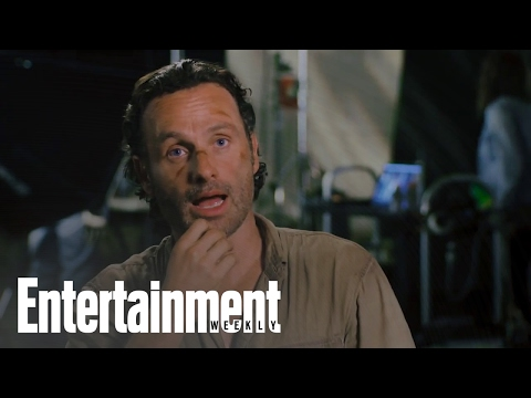 The Walking Dead: Andrew Lincoln On The  Being A Hit & His Favorite