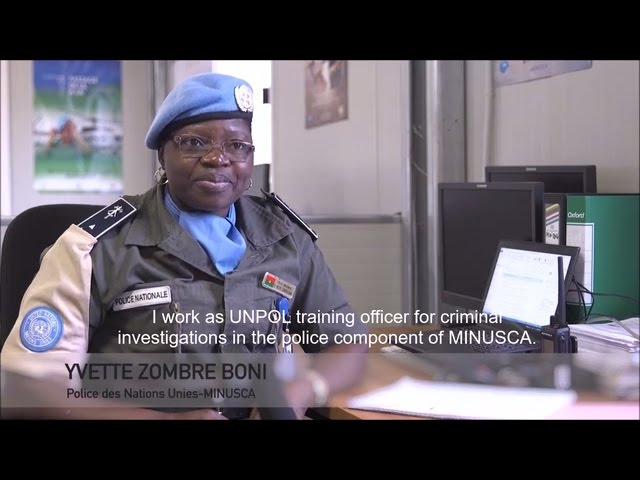 Meet Ivette Boni Zombre, International Female Police Peacekeeper 2016