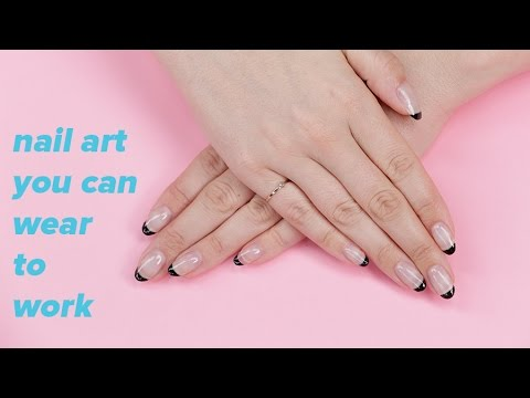 Nail Art You Can Wear At Work Beauty Junkie Youtube