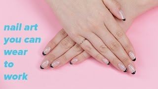 Nail Art You Can Wear at Work! | Beauty Junkie