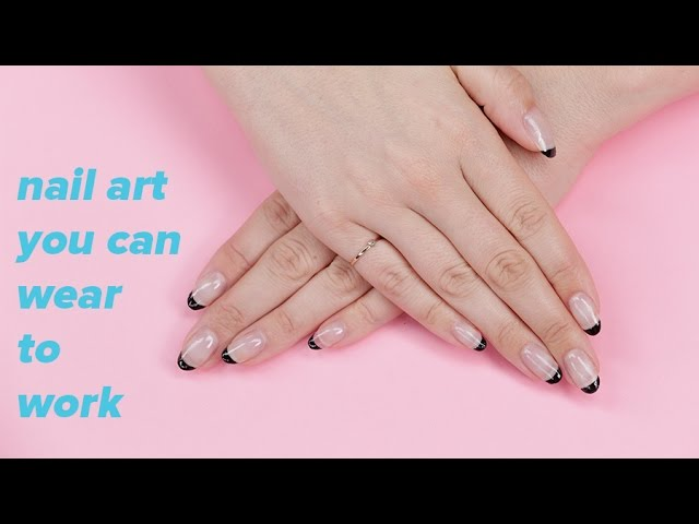 Minimalist Nail Art You Can Actually Wear To Work | Hauterfly
