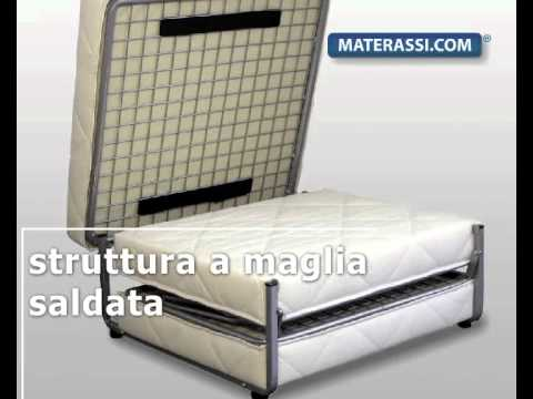 Pouf trasformabile in pouf letto youtube for Materassi lettino ikea
