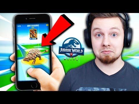 Download Youtube: 🦖 *NOWA* GRA JURASSIC WORLD?! POKEMON GO Z DINOZAURAMI! | Jurassic World: The Game