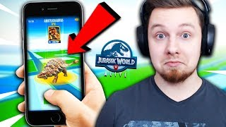 *NOWA* GRA JURASSIC WORLD?! POKEMON GO Z DINOZAURAMI! | Jurassic World: The Game