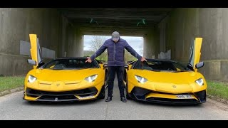 My Lamborghini SVJ vs my SV Roadster, Start Up, Rev Off, Exhaust Sound, Fly By 2020
