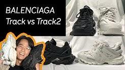 BALENCIAGA 👟 Track vs Track 2 Sneakers Comparison |【Honest Reviews】