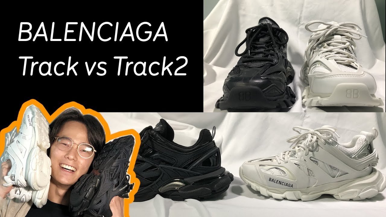 Balenciaga Track Vs Track 2 Sneakers Comparison Honest Reviews Youtube