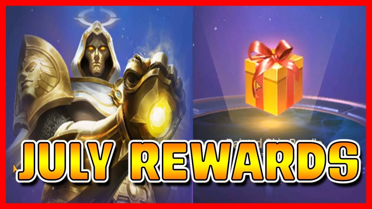 july 2019 starlight rewards | mobile legends