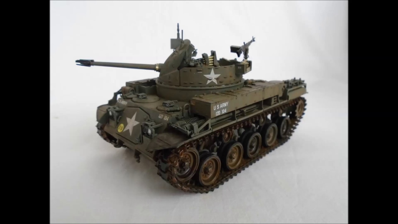 Duster For Sale >> M42 Duster from Vietnam War AFV Club 1/35 - YouTube