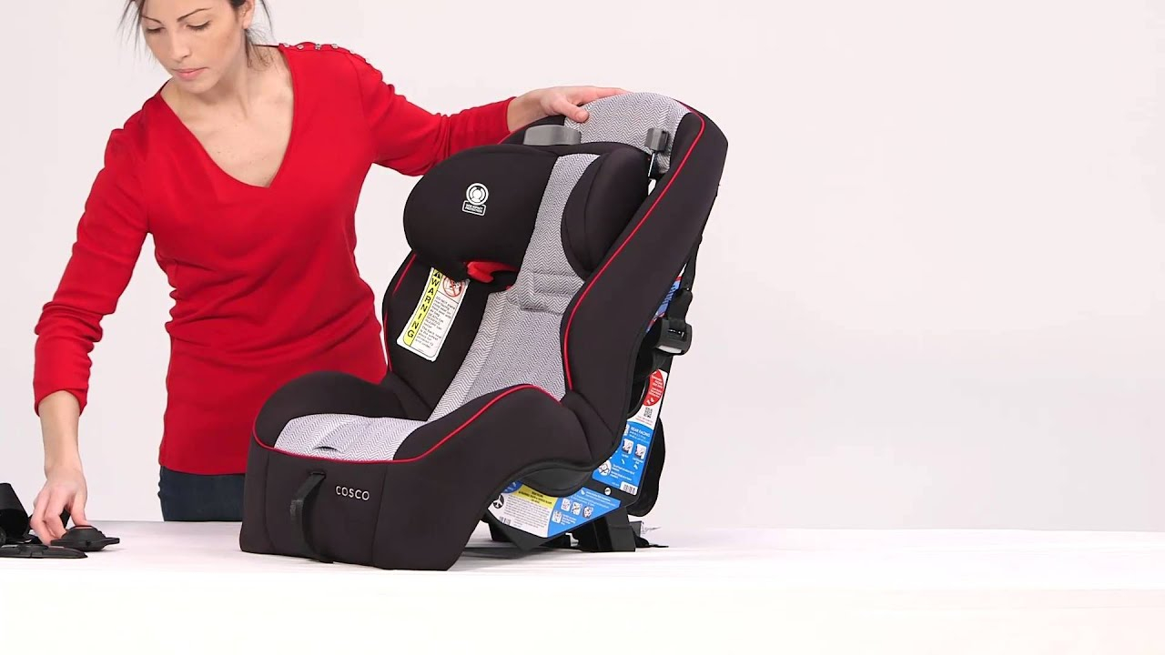 Cosco Easy Elite 3 In 1 Convertible Car Seat Belt Positioning Booster Mode