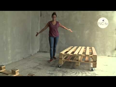 Comment d monter une palette le plus facilement possible - Fabriquer un canape en bois ...