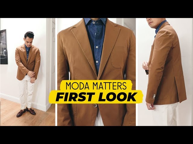 Moda Matters Review: Luciano Jacket / Monti Denim Dress Shirt (first impressions + outfit ideas)